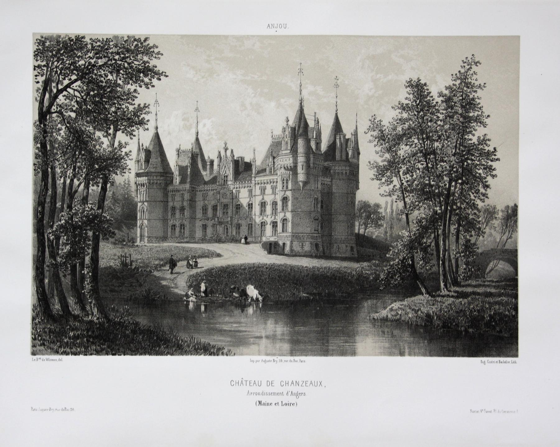 Chateau de Chanzeaux / Arrond. d'Angres /: Wismes, Olivier de