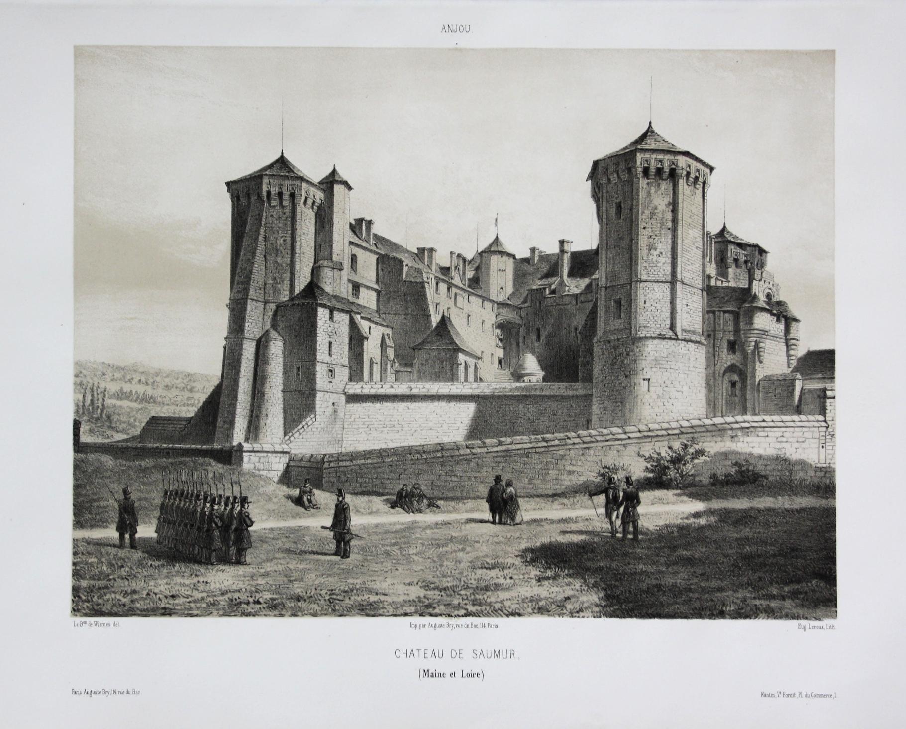 Chateau de Saumur / Maine et Loire: Wismes, Olivier de