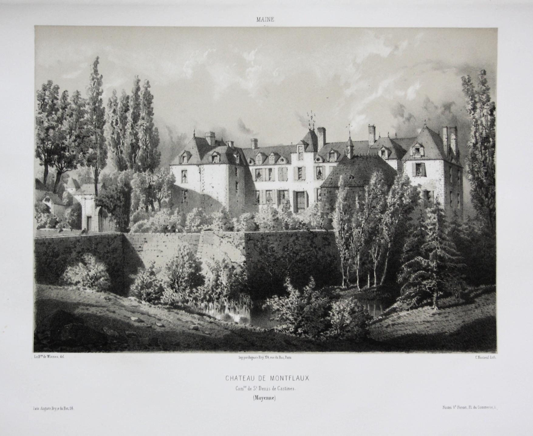 Chateau de Montflaux / Com. de St.: Wismes, Olivier de