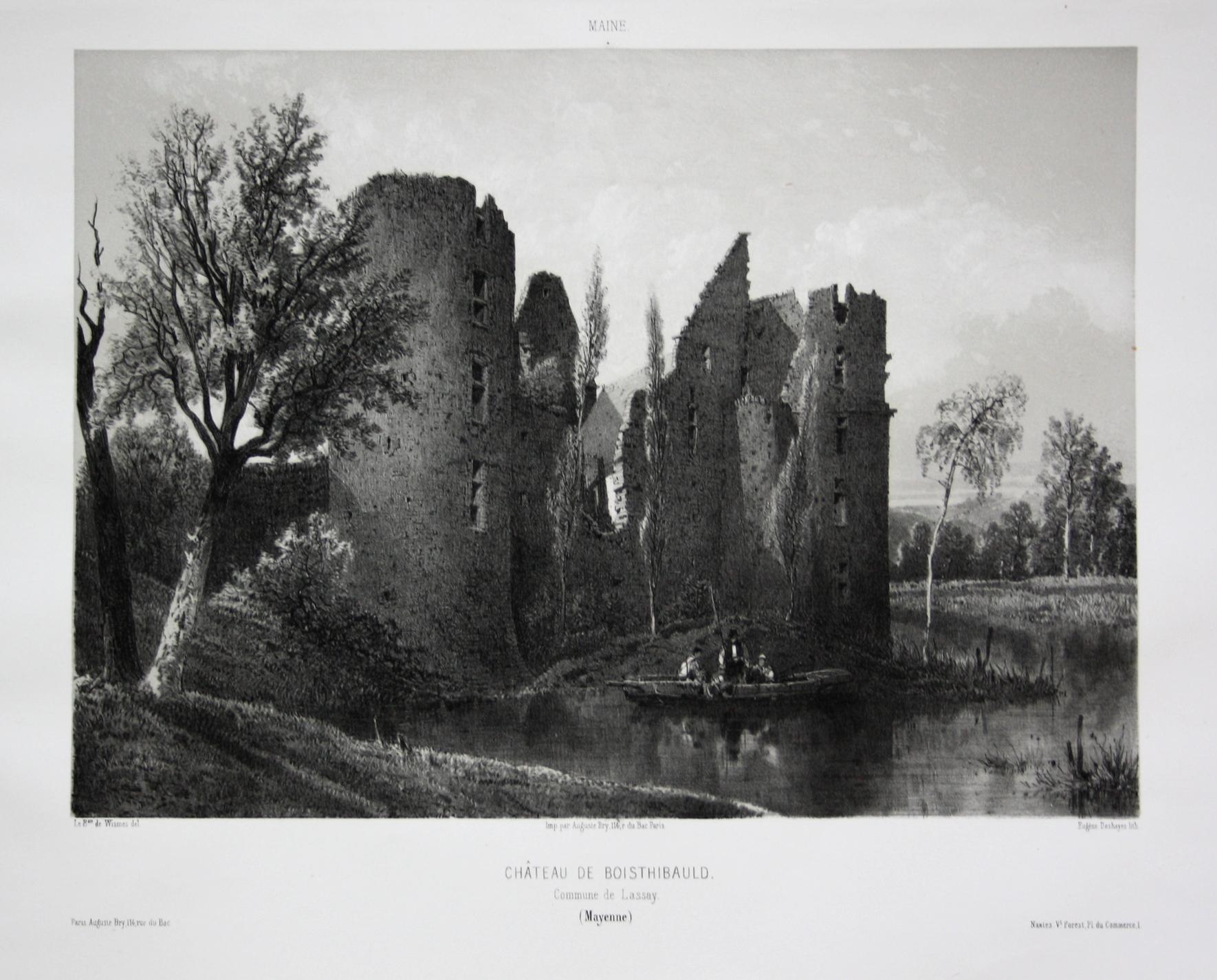 Chateau de Boisthibauld / Commune de Lassay: Wismes, Olivier de