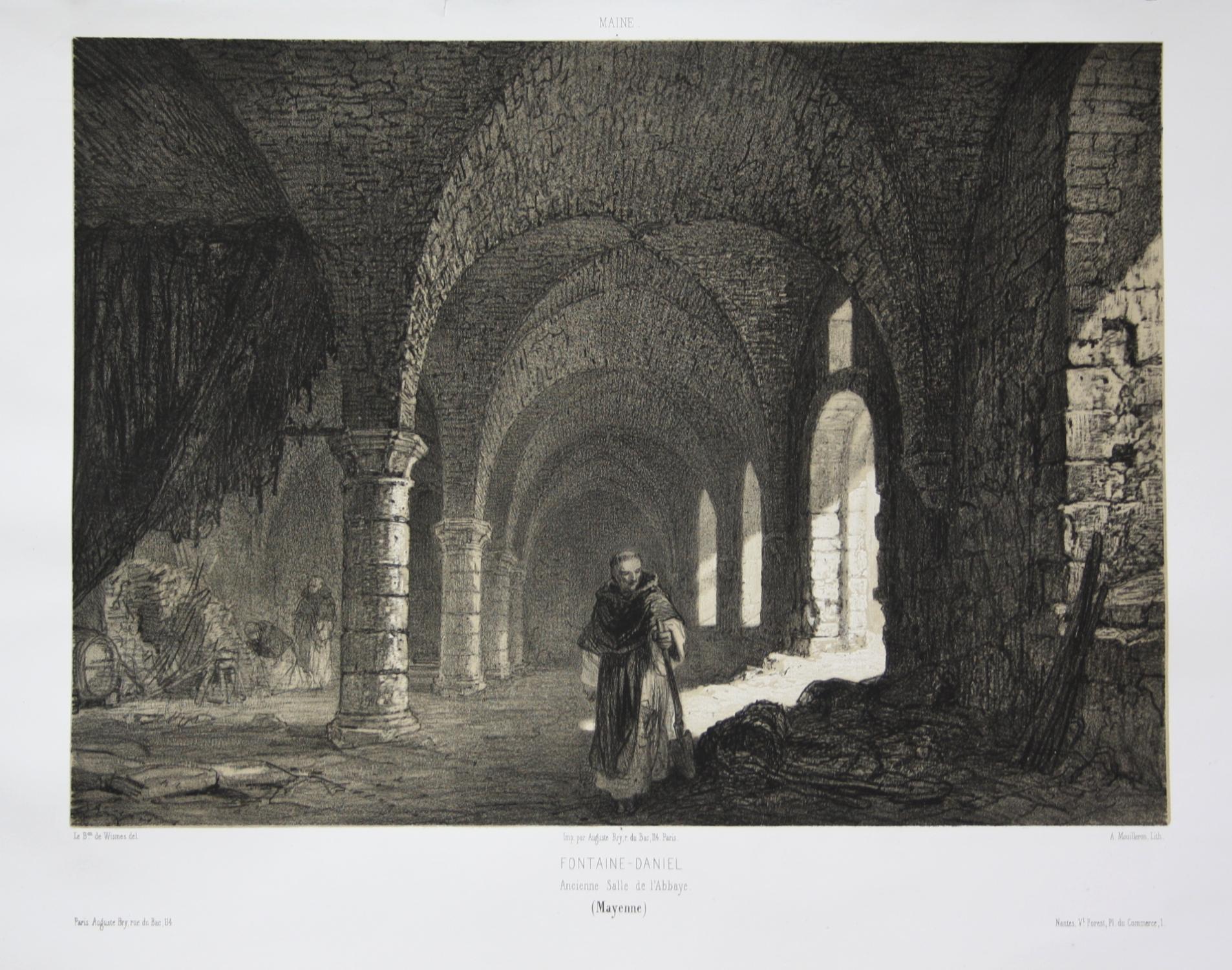 Fontaine-Daniel / Ancienne Salle de l'Abbaye /: Wismes, Olivier de
