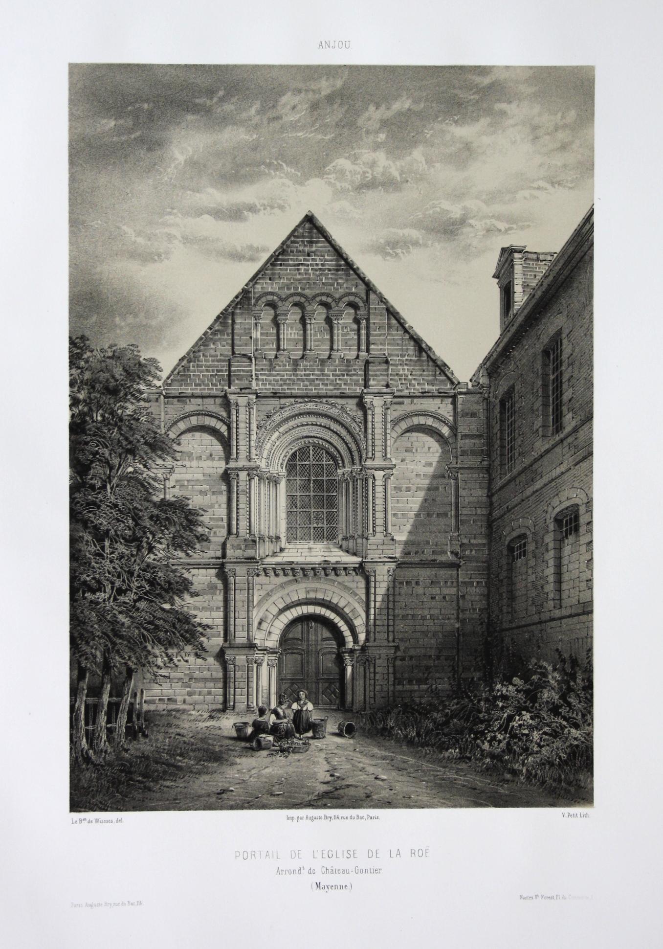 Portail de l'Eglise de la Roe /: Wismes, Olivier de