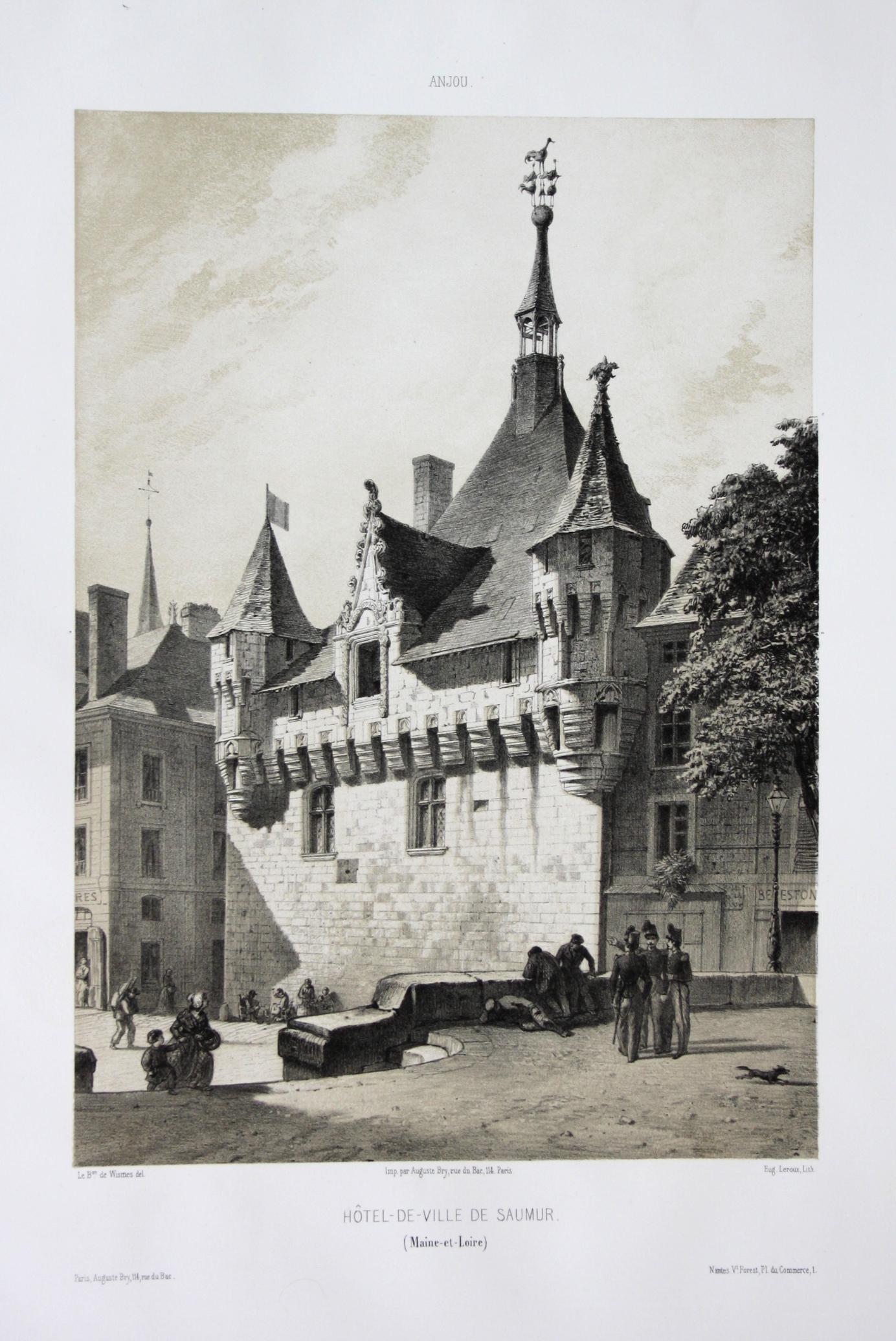 Hotel-de-Ville de Saumur / Maine-et-Loire / Anjou: Wismes, Olivier de