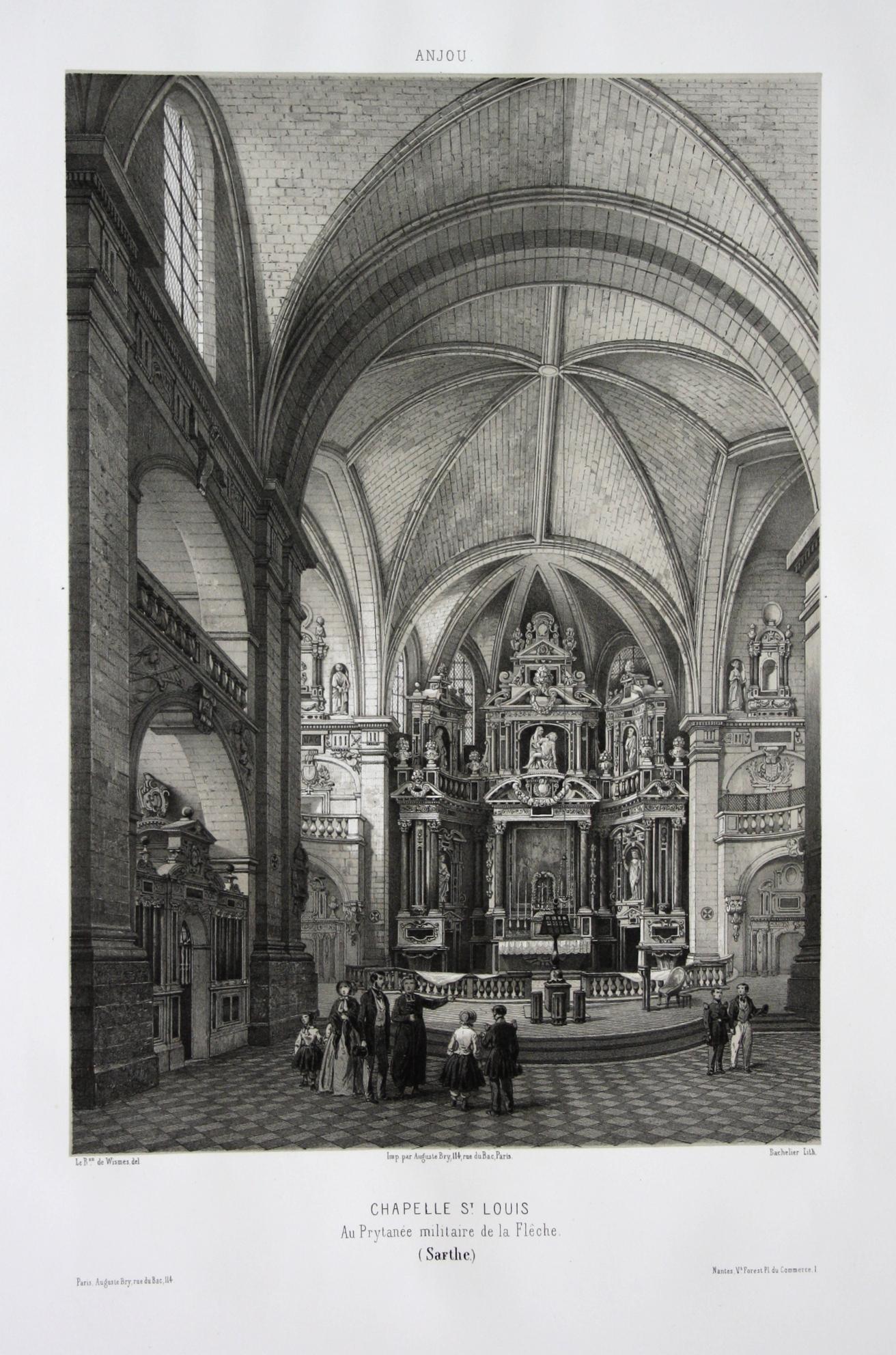 Chapelle St. Louis / Au Prytanee militaire: Wismes, Olivier de