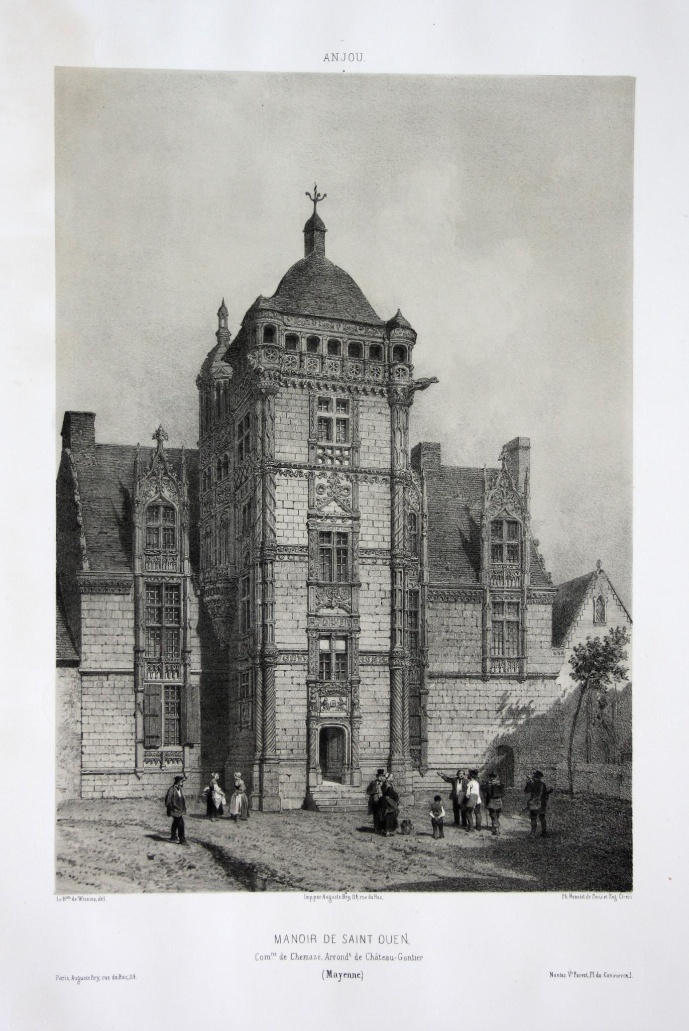 Manoir de Saint Ouen / Com. de: Wismes, Olivier de
