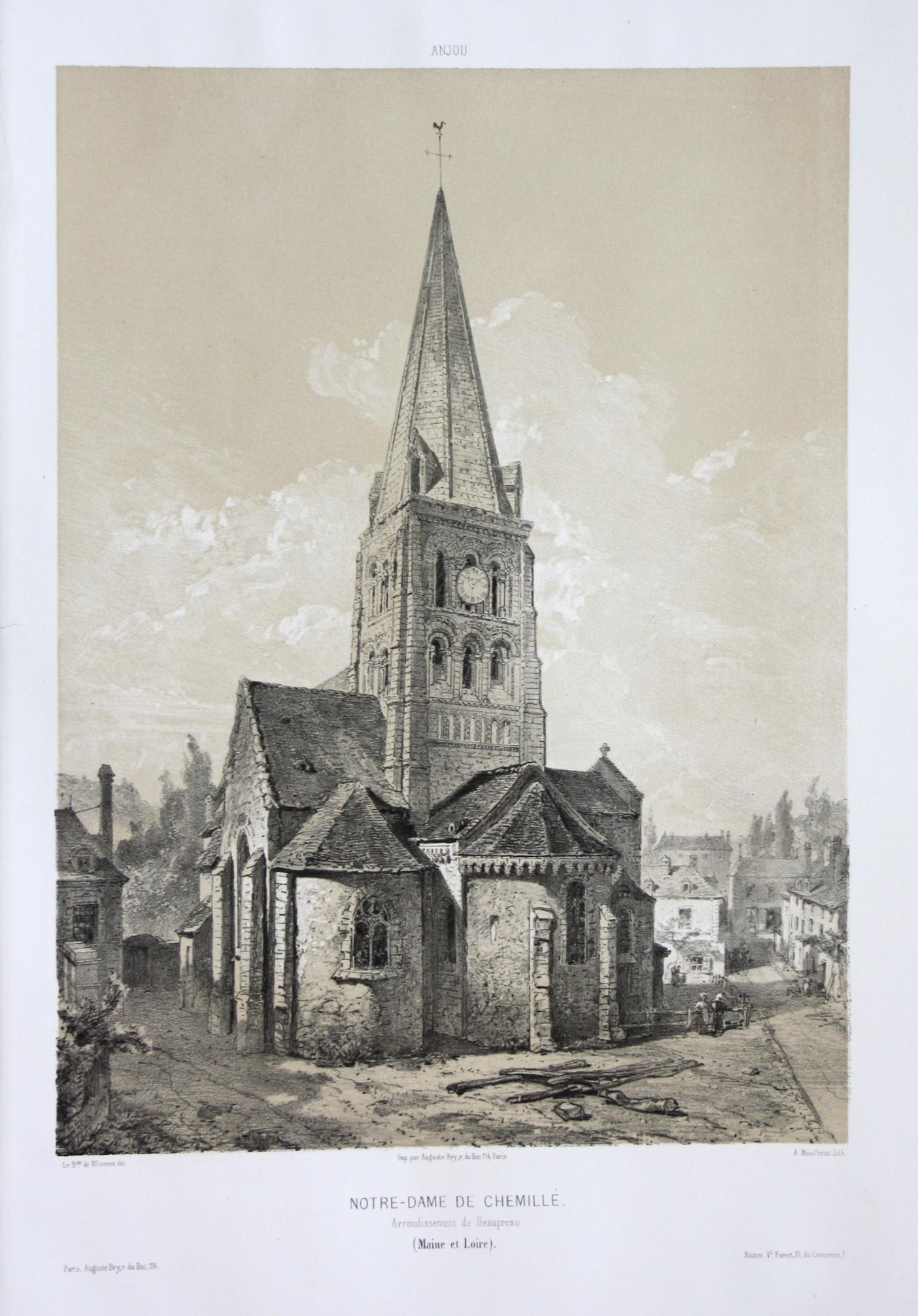 Notre-Dame de Chemille / Arrond. Beaupreau /: Wismes, Olivier de