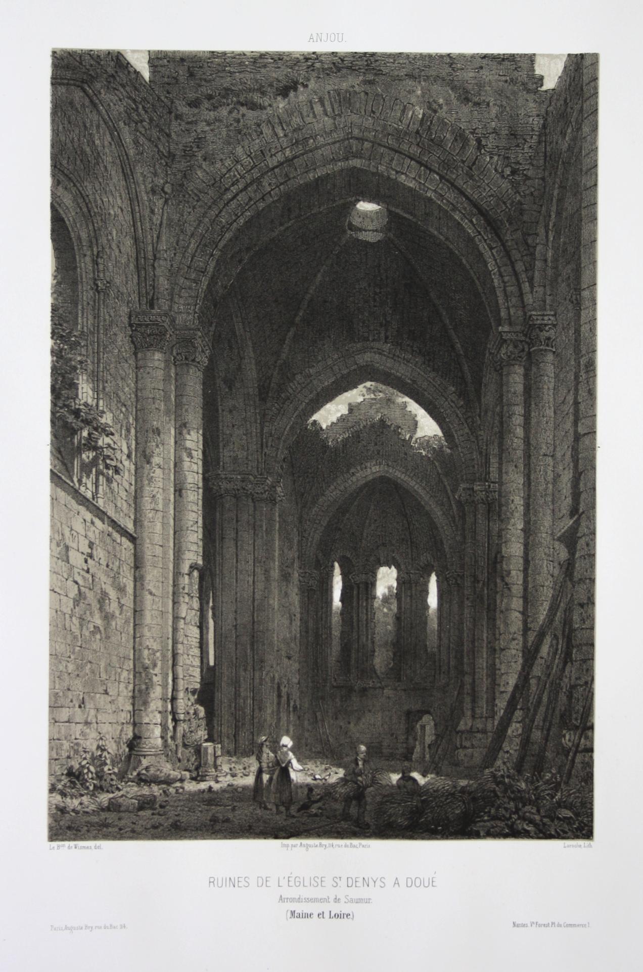 Ruines de l'Eglise St. Denys a Doue: Wismes, Olivier de