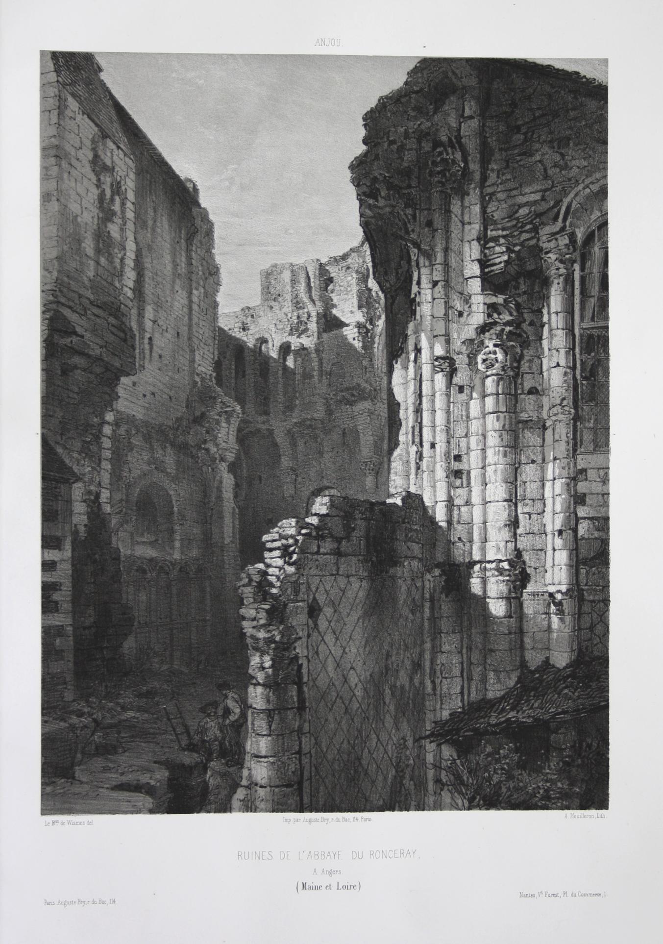 Ruines de l'Abbaye du Ronceray / A: Wismes, Olivier de