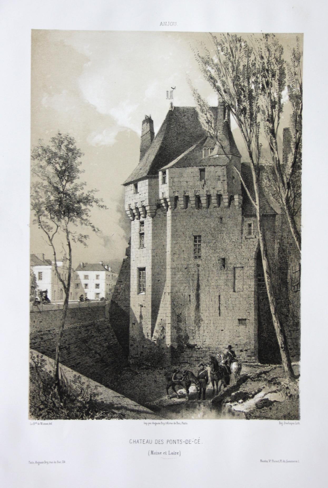 Chateau des Ponts-de-Ce / Maine et Loire: Wismes, Olivier de