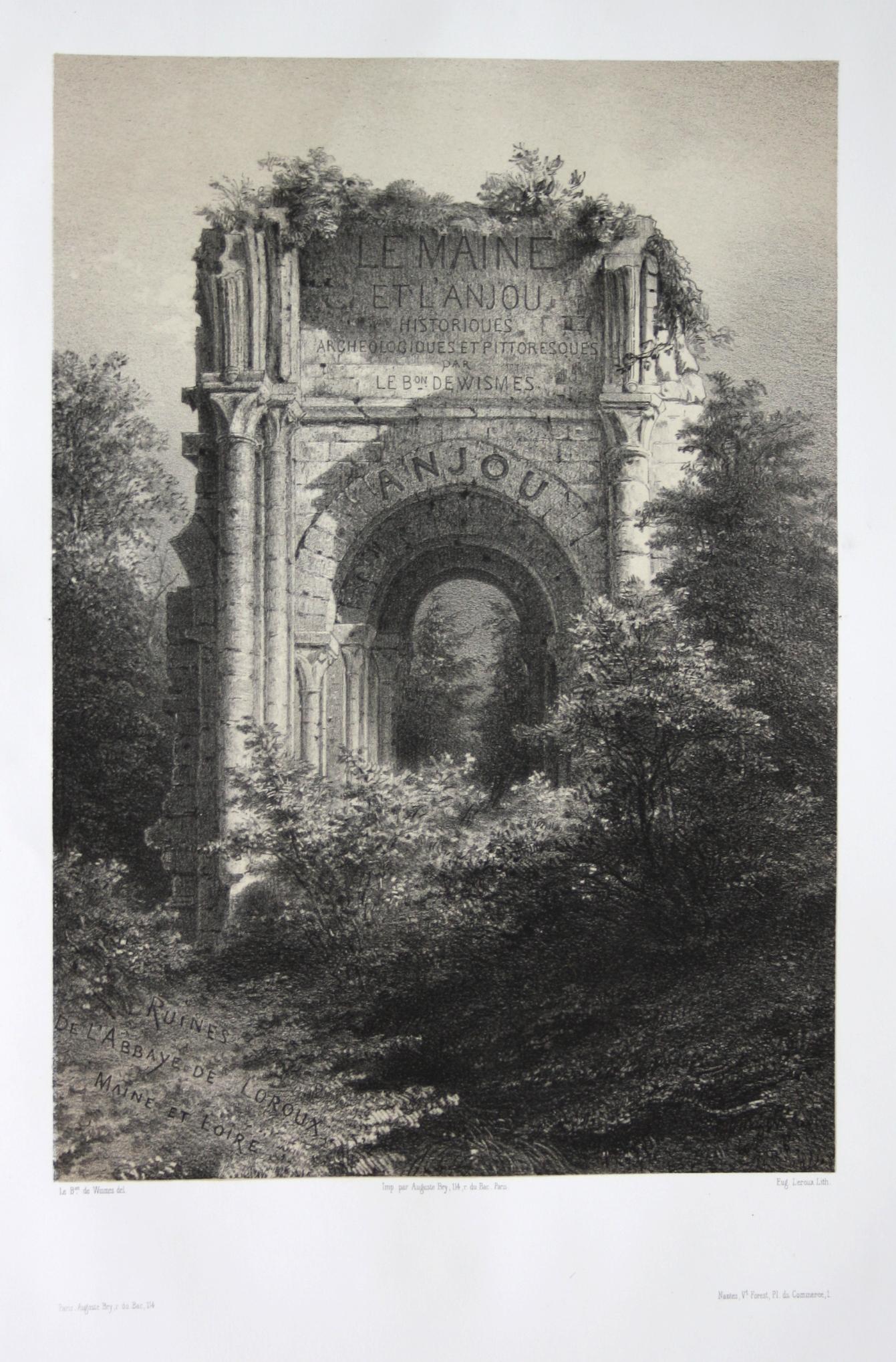 Ruines de l'Abbaye de Loroux / Maine: Wismes, Olivier de