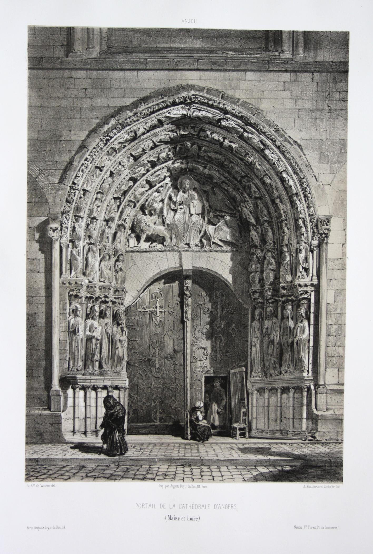Portail de la Cathedrale d'Angers / Maine: Wismes, Olivier de