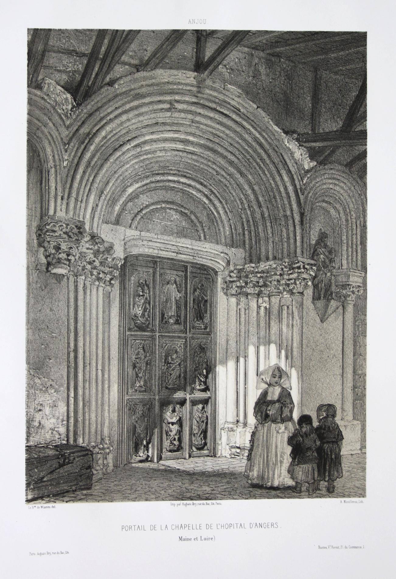 Portail de la Chapelle de l'Hopital d'Angers: Wismes, Olivier de