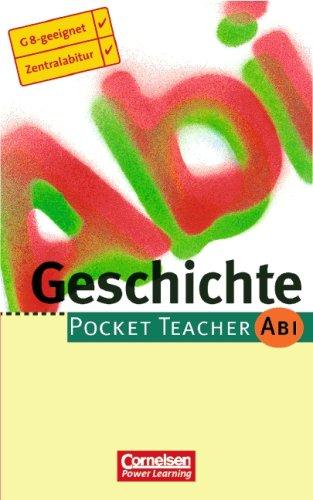 Geschichte. Pocket teacher Abi; Cornelsen Power learning: Matthiessen, Wilhelm: