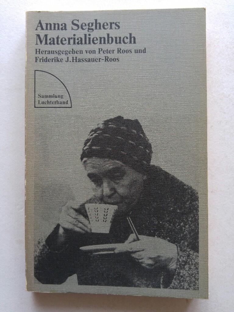 Materialienbuch.: Seghers, Anna: