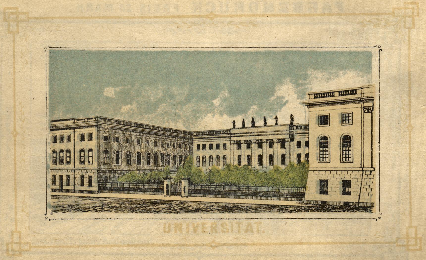 Universität.: Berlin - Universität: