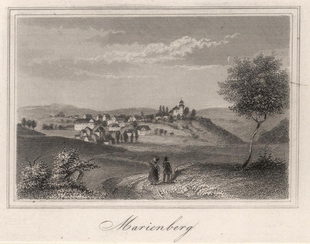 """Gesamtans., """"Marienberg"""".: Bad Marienberg:"""