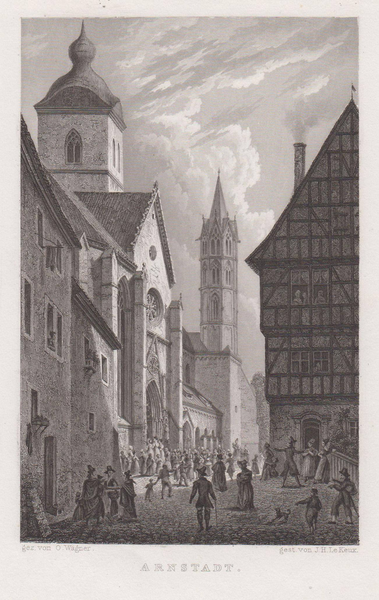 TA., Liebfrauenkirche.: Arnstadt: