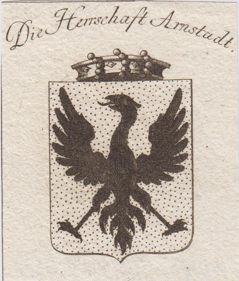 Die Herrschaft Arnstadt.: Arnstadt: Wappen: