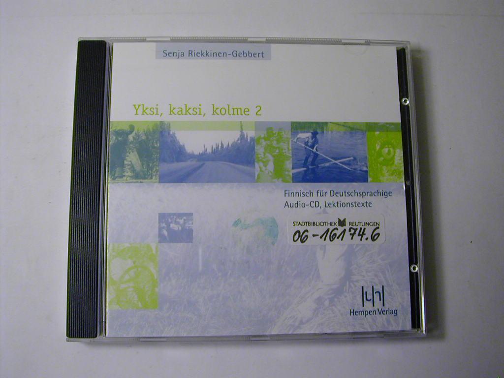Yksi, kaksi, kolme : Finnisch für Deutschsprachige / Teil 2 - Audio-CD., Lektionstexte - Senja Riekkinen-Gebbert