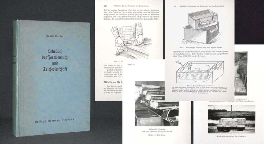 Lehrbuch der Forellenzucht und Forellenteichwirtschaft.: WIESNER, Dr. Erhard