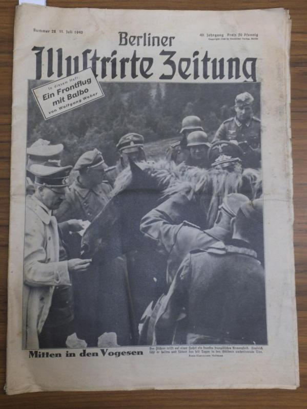 Berliner Illustrirte Zeitung. Nummer 28, 11. Juli: Berliner Illustrierte Zeitung.