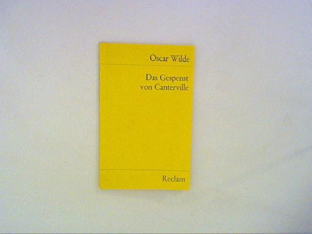 Das Gespenst von Canterville: Wilde, Oscar: