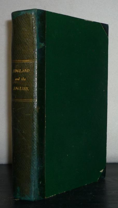 England and the English. By Edward Lytton: Bulwer, Edward, Lord