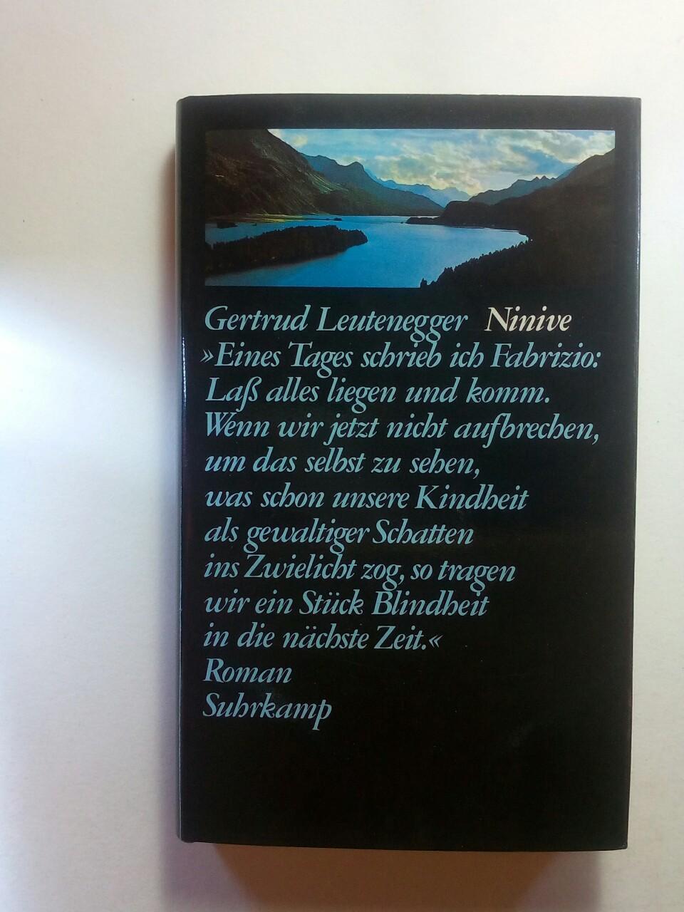 Ninive: Leutenegger, Gertrud: