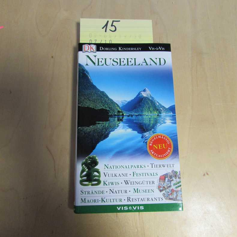 Vis a Vis Reiseführer Neuseeland - Corrigan, Helen, Roef Hopman und Gerard Hutching