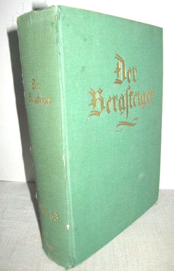Der Bergsteiger 3. (XI.) Jahrgang 1. Band: GALLHUBER, JULIUS (Schriftl.):