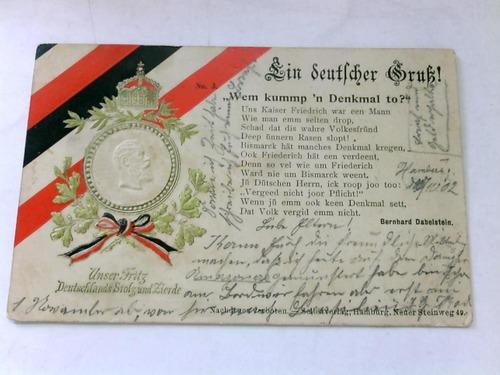 Unser Fritz Deutschlands Stolz und Zierde: Ein deutscher Gruß!)
