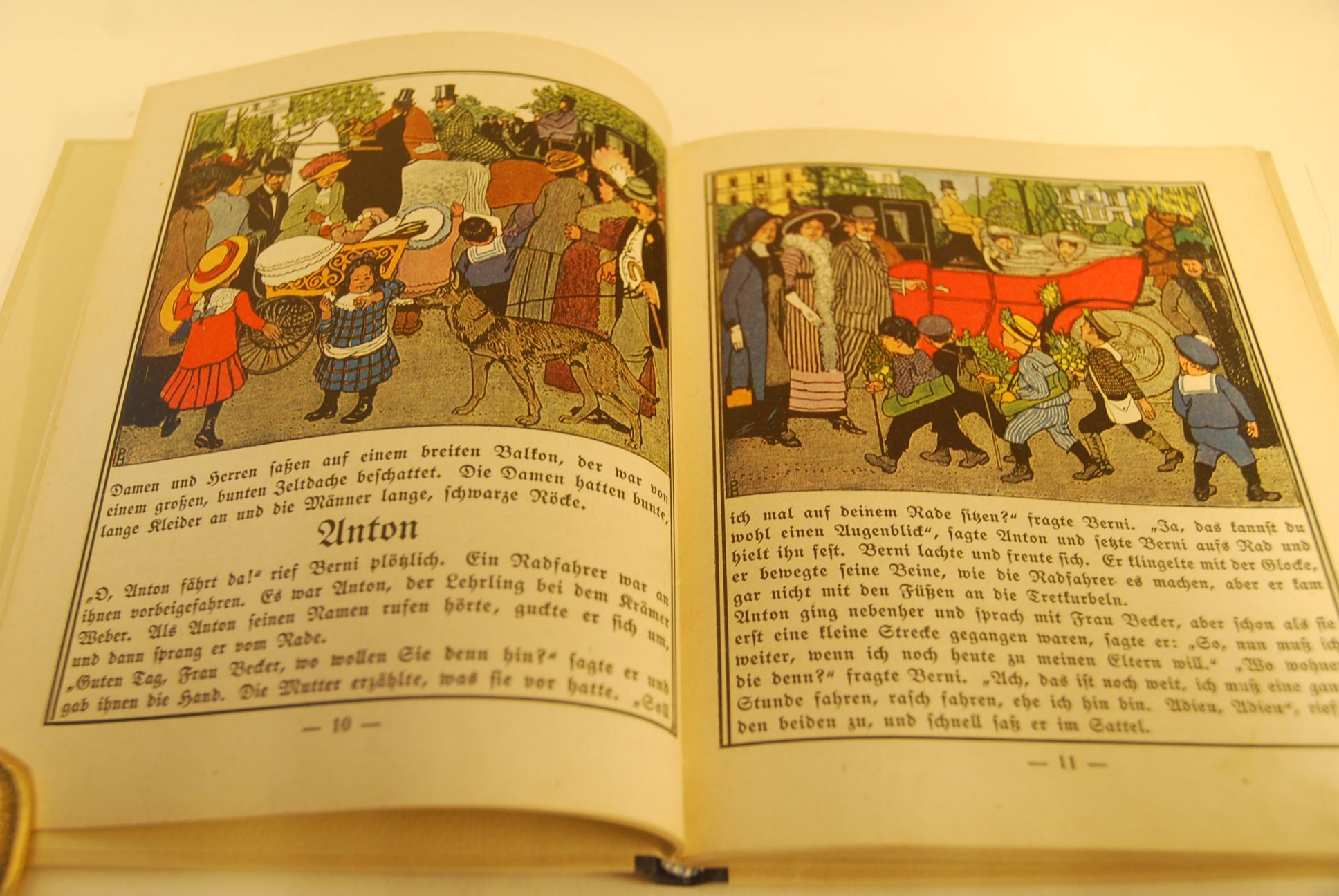 Berni : ein kleiner Junge ; was: Scharrelmann, Heinrich und
