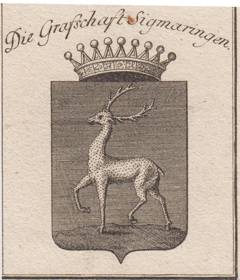 """Die Grafschaft Sigmaringen"""".: Sigmaringen: Wappen ("""