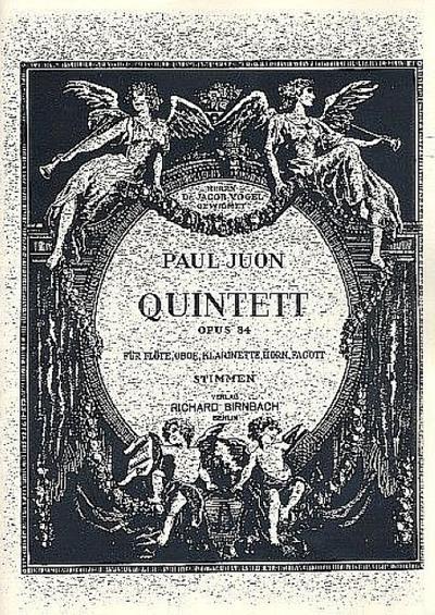 Quintett op.84Stimmen: Paul Juon