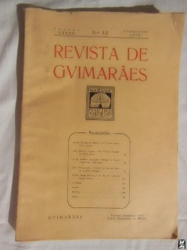 REVISTA DE GUIMARAES. Volumw LXXXII, Nos 1-2,: CARDOZO Mario (director)