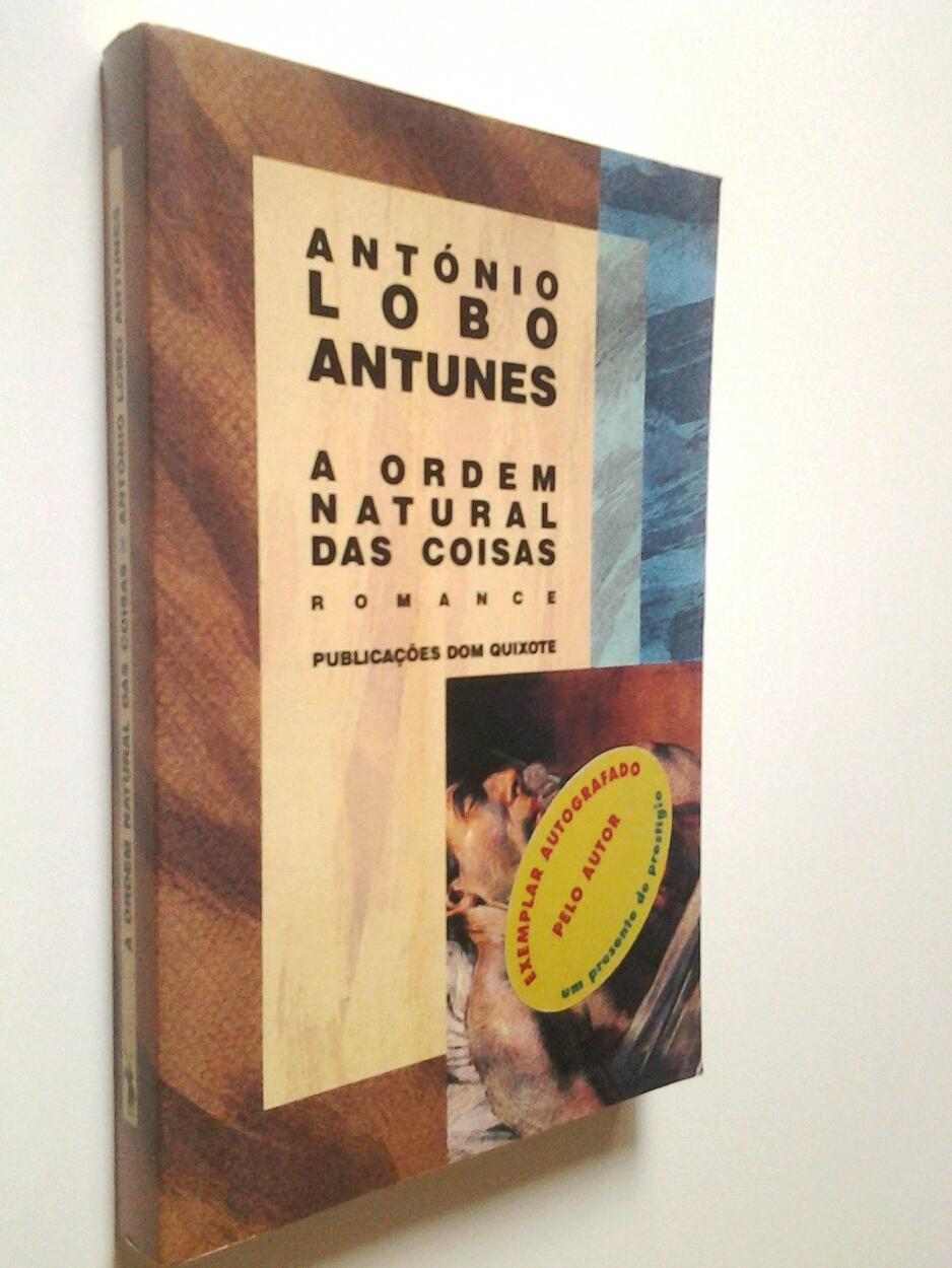 A ordem natural das coisas. Romance - António Lobo Antunes