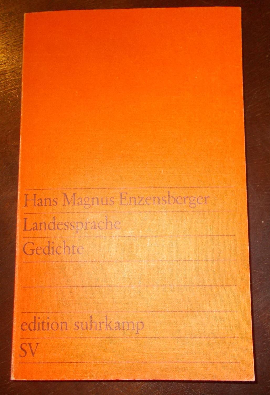 Landessprache Gedichte: Hans Magnus Enzensberger