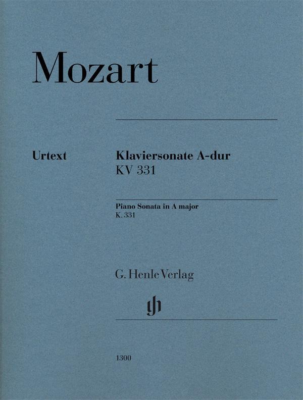 Mozart Sonata K 331 300i En La Mayor Marcha Turca Para Piano Urtext De Mozart 2015 Partitura Mega Music