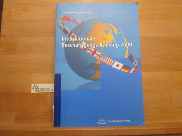 Internationales Beschäftigungs- Ranking 2000: Kröger, Martin und