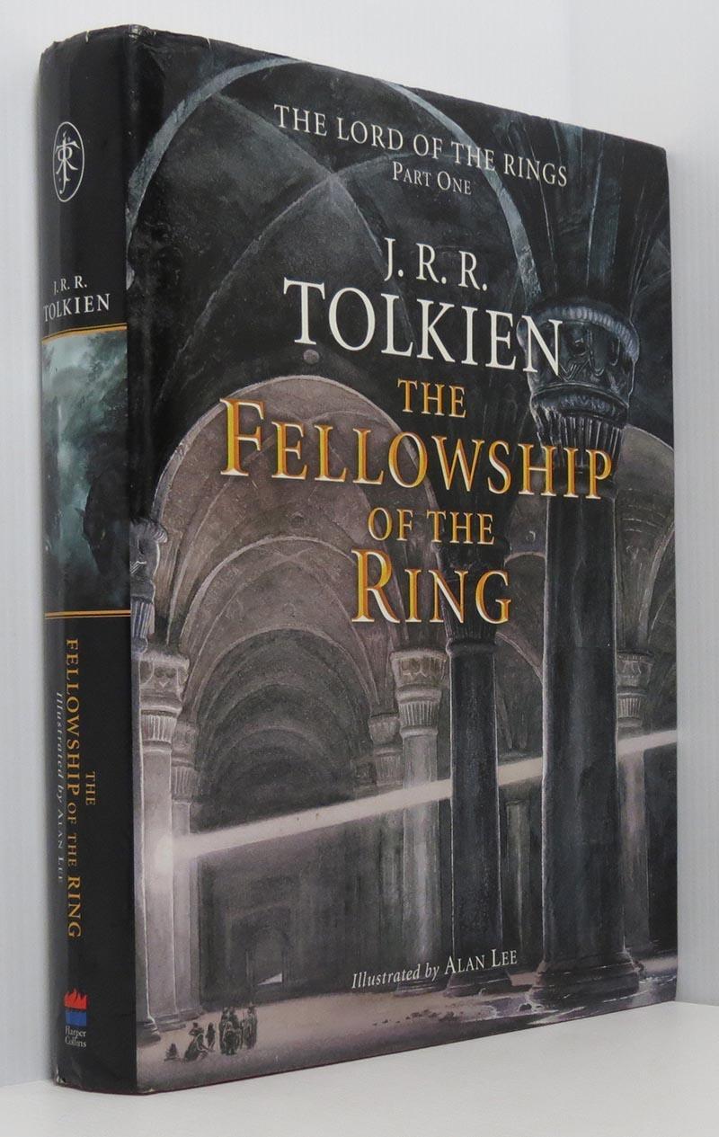 J R R Tolkien Lord Rings Illustrated Alan Lee Abebooks
