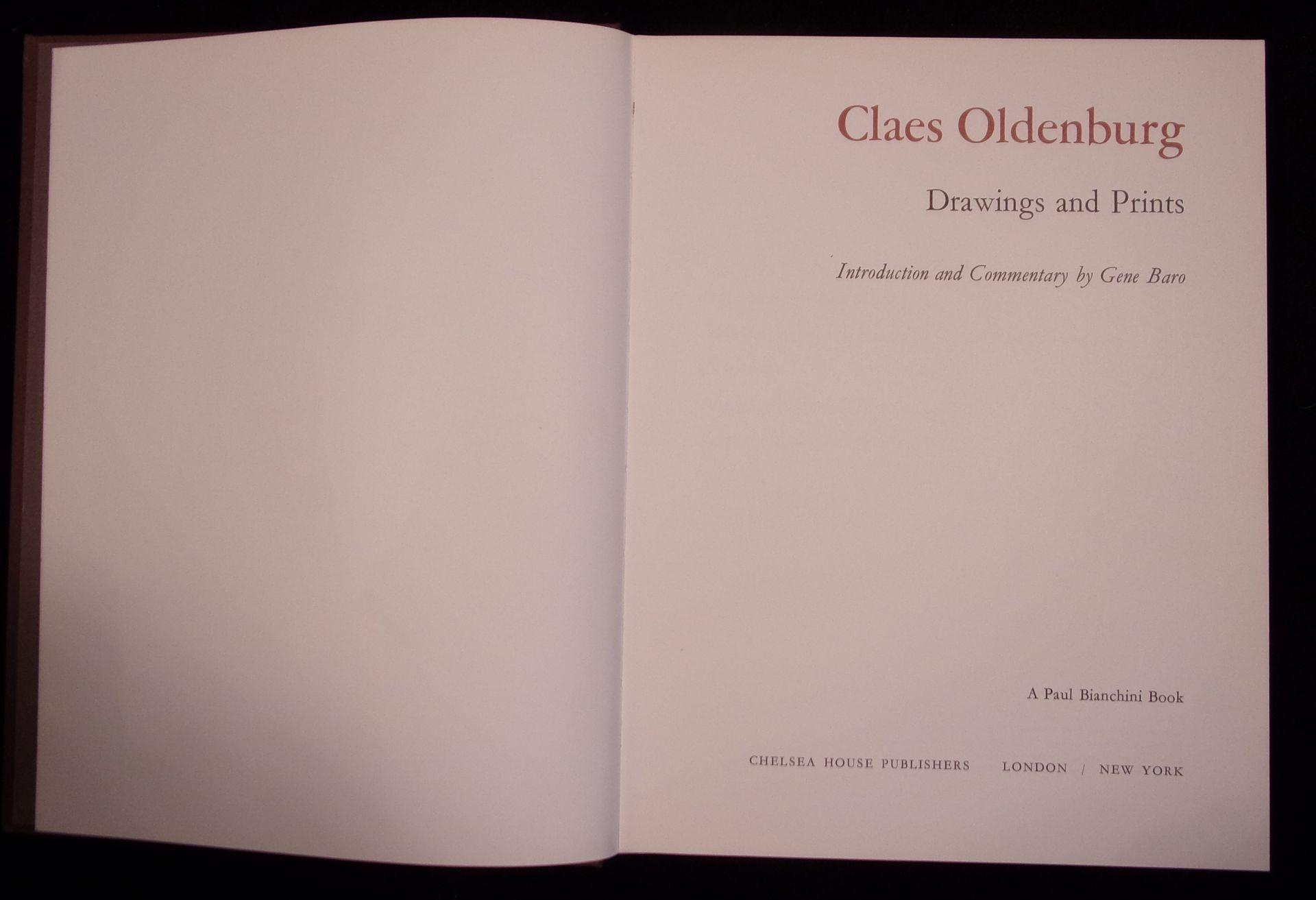 Drawings and Prints: Oldenburg, Claes: