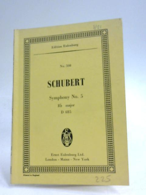 Symphony No. 5, Bb Major, D 485: Franz Schubert