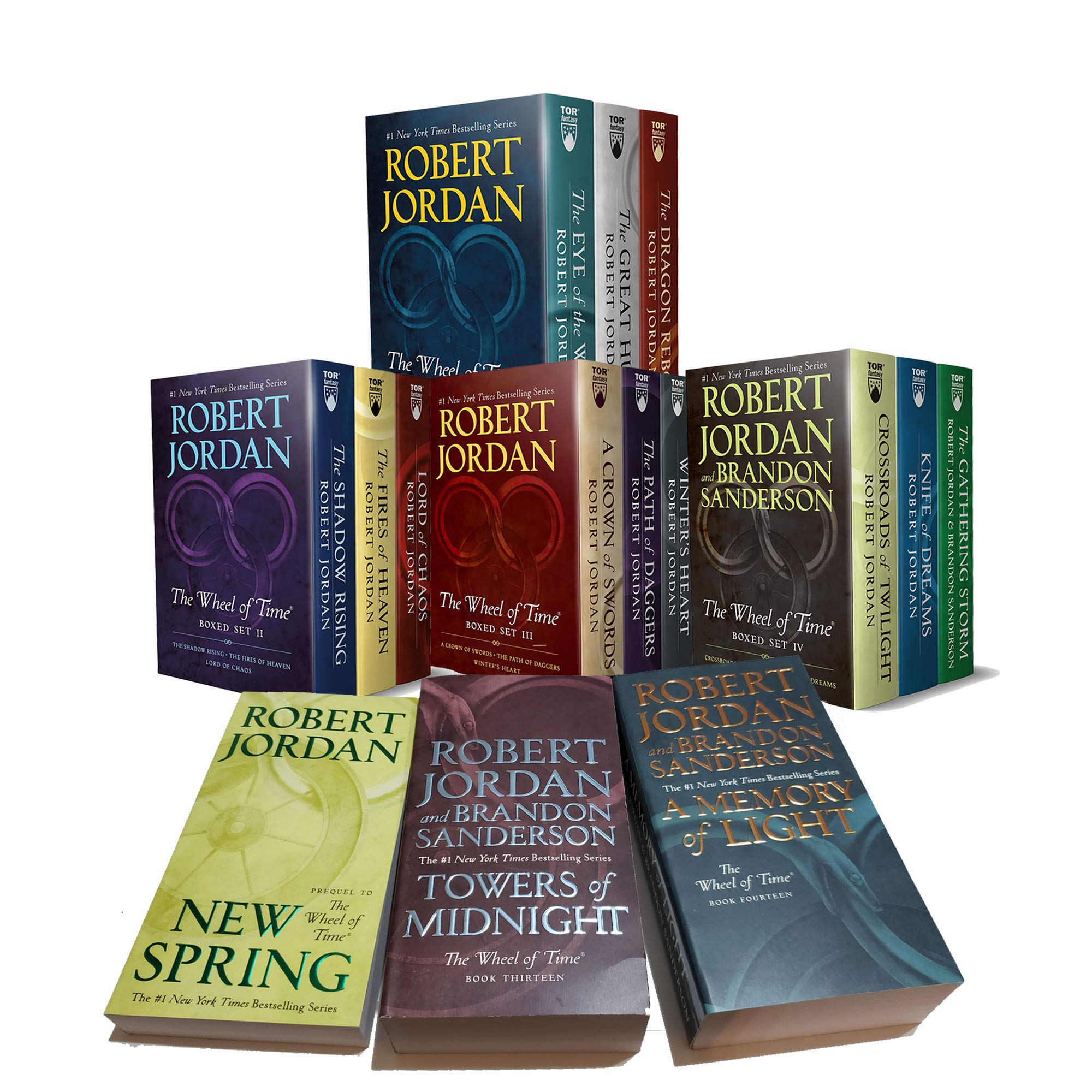 Wheel Of Time 1 15 Pb By Jordan Robert New Lakeside Books