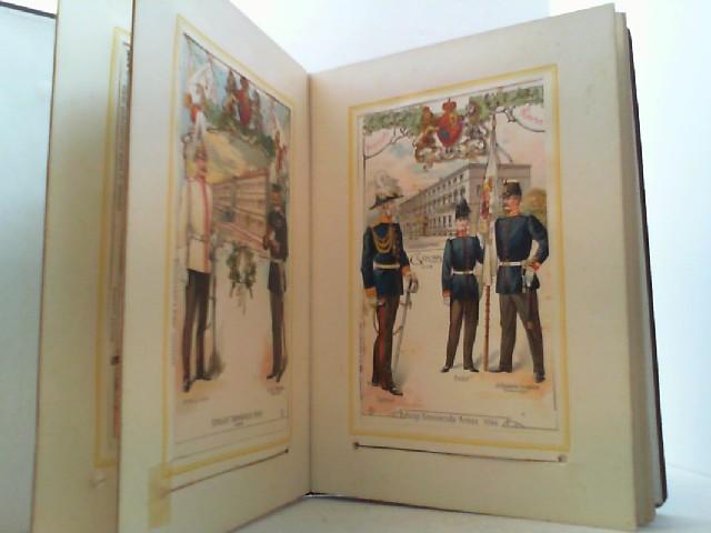 12 Postkarten im O.-Leinenband.: Erinnerung an die