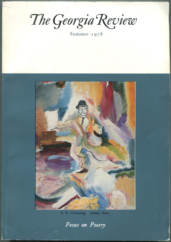 The Georgia Review: Summer 1978, Volume XXXII,: LINDBERG, Stanley W.,