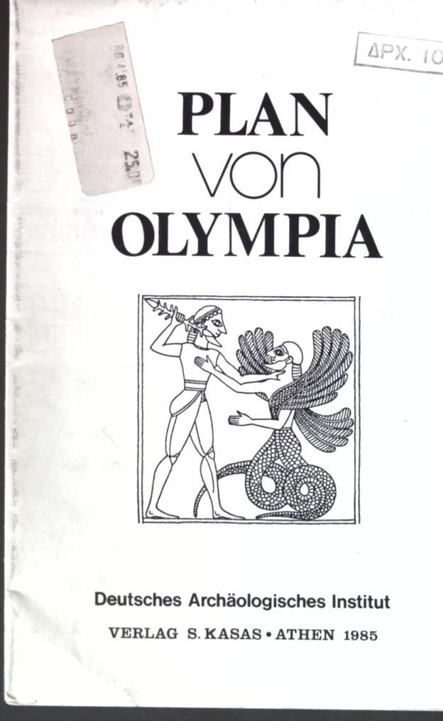Plan von Olympia;: Deutsches Archäologisches Institut: