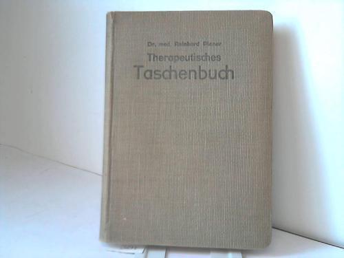 Therapeutisches Taschenbuch: Planer, Reinhard