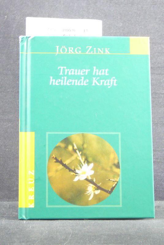 Jörg Zink Trauer