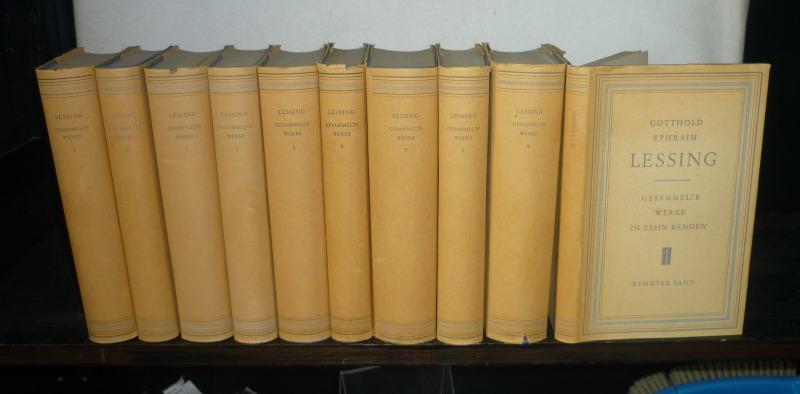 Gotthold Ephraim Lesssing: Gesammelte Werke in zehn: Lessing, Gotthold Ephraim