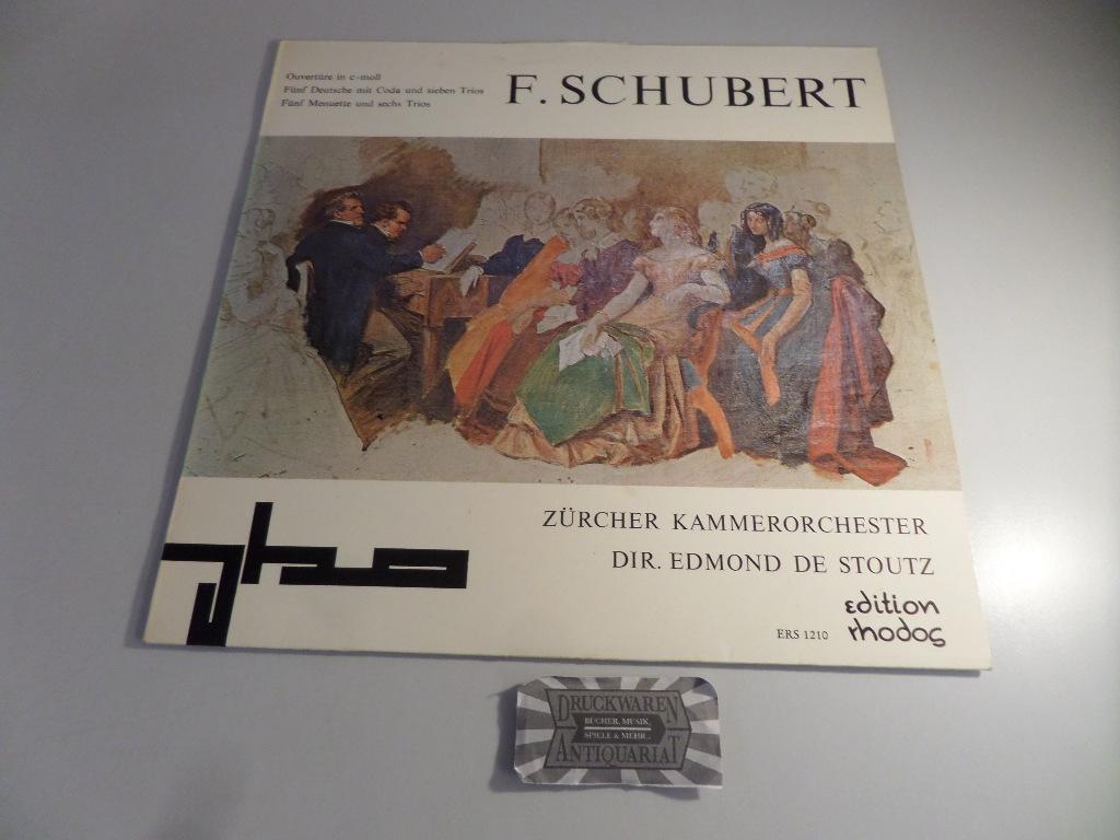 Ouvertüre c-moll / Fünf Deutsche mit Coda: Schubert, Franz [Komponist],